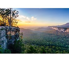 Sunrise at Boolimba Bluff Photographic Print