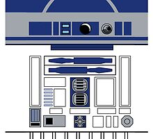 R2D2 by monoclekitty