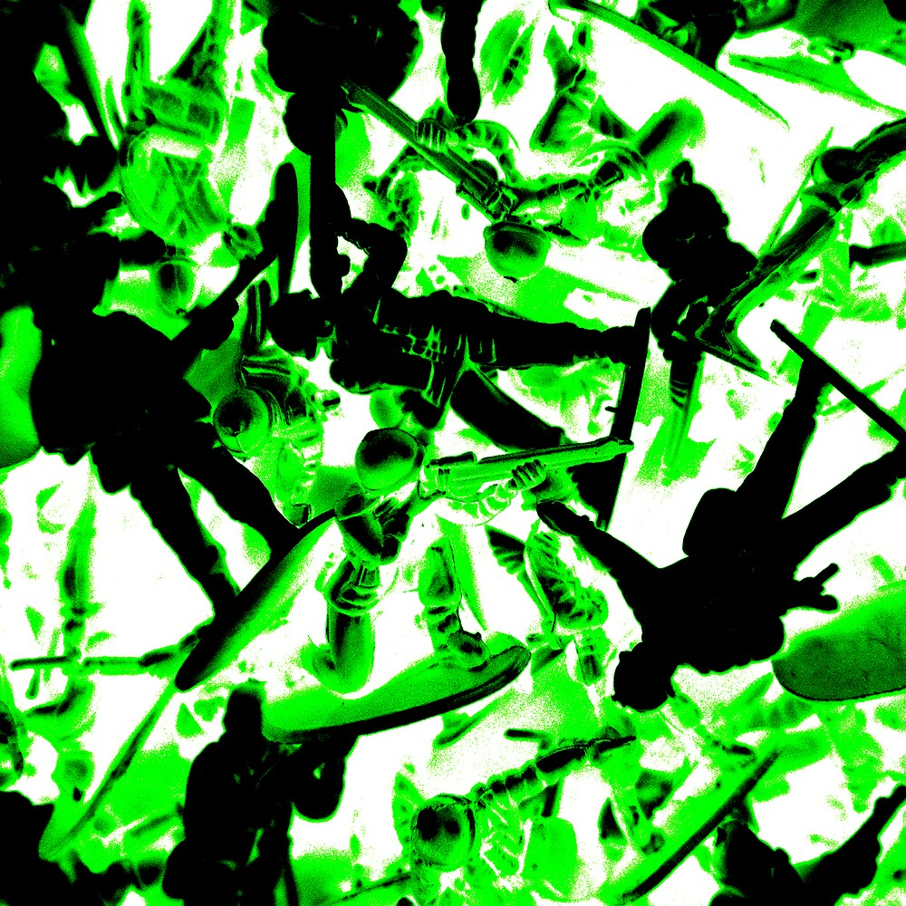 Toy Soldiers (abstract) by SNAPPYDAVE