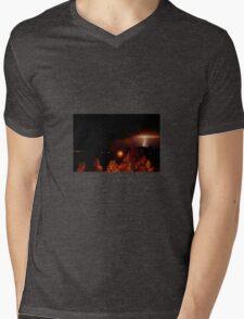 Alberta Lightning V Mens V-Neck T-Shirt