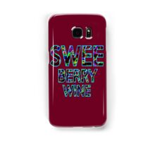 SWEE BERRY WINE Dr. Steve Brule Design by SmashBam Samsung Galaxy Case/Skin