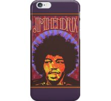Jimi Hendrix   Fan Made Poster iPhone Case/Skin