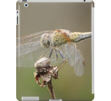 Dragonfly Close Up & Personal  iPad Case/Skin
