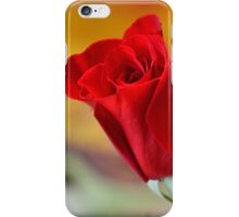 Blooming Red Rose iPhone Case/Skin