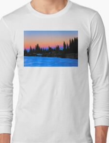 Summit sunrise  Long Sleeve T-Shirt