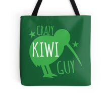 Crazy KIWI Guy Tote Bag