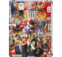 Ohio State Football 2015 National Champions Collage iPad Case/Skin