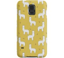 Alpaca - Mustard by Andrea Lauren Samsung Galaxy Case/Skin