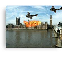 London - Parliament Canvas Print