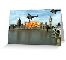 London - Parliament Greeting Card