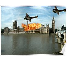London - Parliament Poster