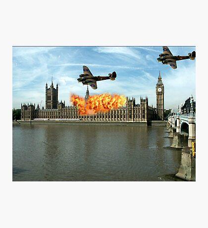 London - Parliament Photographic Print