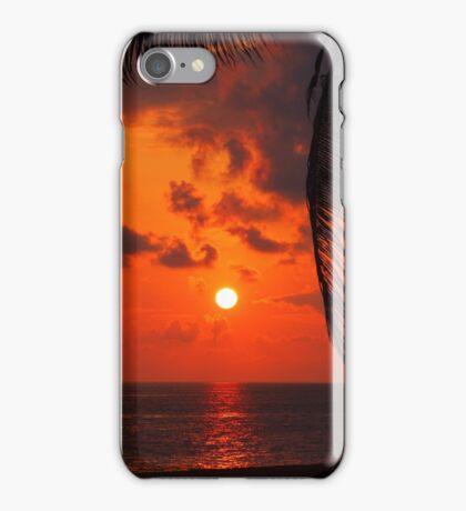 Playa Palmerito Sunset iPhone Case/Skin