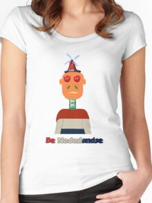The Dutch Women's Fitted Scoop T-Shirt