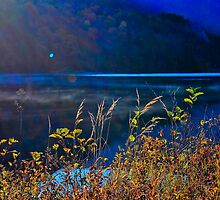 Sunrise, Saco Lake, Crawford Notch, White Mountains National Forest, New Hampshire by Richard VanWart