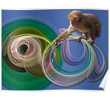 Monkey tricks Poster