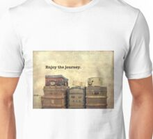 Vintage Brown Steamer Trunks and Luggage Unisex T-Shirt