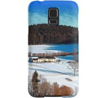 Winter wonderland scenery on a sunny afternoon | landscape photography Samsung Galaxy Case/Skin