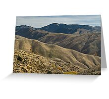 Rugged & Rolling Greeting Card
