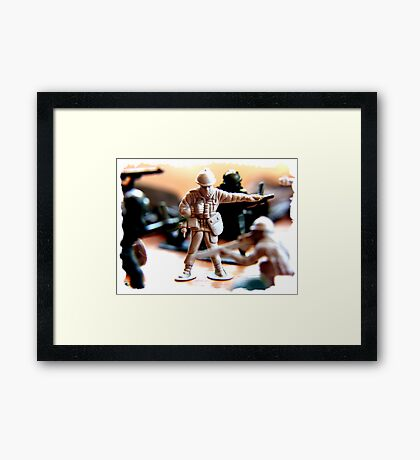 bossy boots ... Framed Print