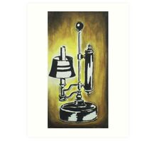 Antique Lamp in black and white Art Print