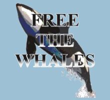 Free The Whales by stoobeebon