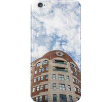 Curved Building Under Brilliant Skies iPhone Case/Skin