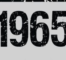 1965 Vintage Sticker