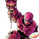 Robocop VS Terminator by ramox90