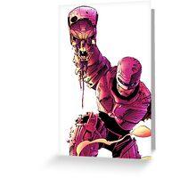 Robocop VS Terminator Greeting Card