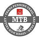 Mountain Bike T-Shirt - Trans Pennine Trail - East Peak Apparel by springwoodbooks