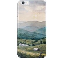 Mountain Valley Farm iPhone Case/Skin