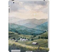 Mountain Valley Farm iPad Case/Skin