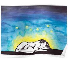 Sleep with Fireflies Poster