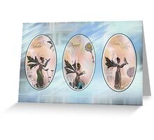 Believe Imagine and Dream Greeting Card