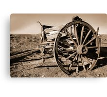 disabled vehicle Canvas Print