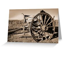 disabled vehicle Greeting Card