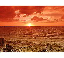 A Beach Somewhere Photographic Print
