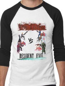 Final Fantasy VS Resident Evil Men's Baseball ¾ T-Shirt