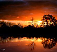 Sunrise on the Fens by Slinky2012