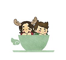 winchester in a cup | stickers Photographic Print