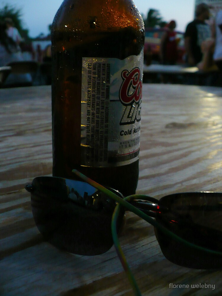 Beer And Shades by florene welebny