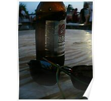 Beer And Shades Poster