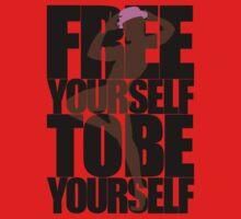 Free Yourself Fabulous Man One Piece - Short Sleeve
