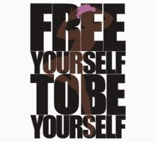 Free Yourself Fabulous Man Kids Clothes