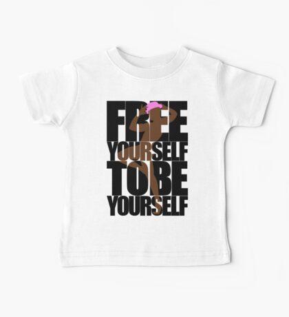 Free Yourself Fabulous Man Baby Tee