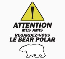 """Le Bear Polar""- Cabin Pressure Kids Clothes"