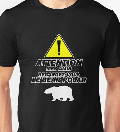 """Le Bear Polar""- Cabin Pressure Unisex T-Shirt"