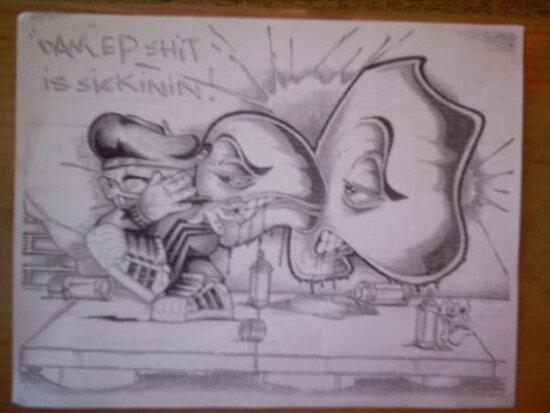 Sickinin wit da art. by epdoe