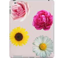 Flowers Set iPad Case/Skin